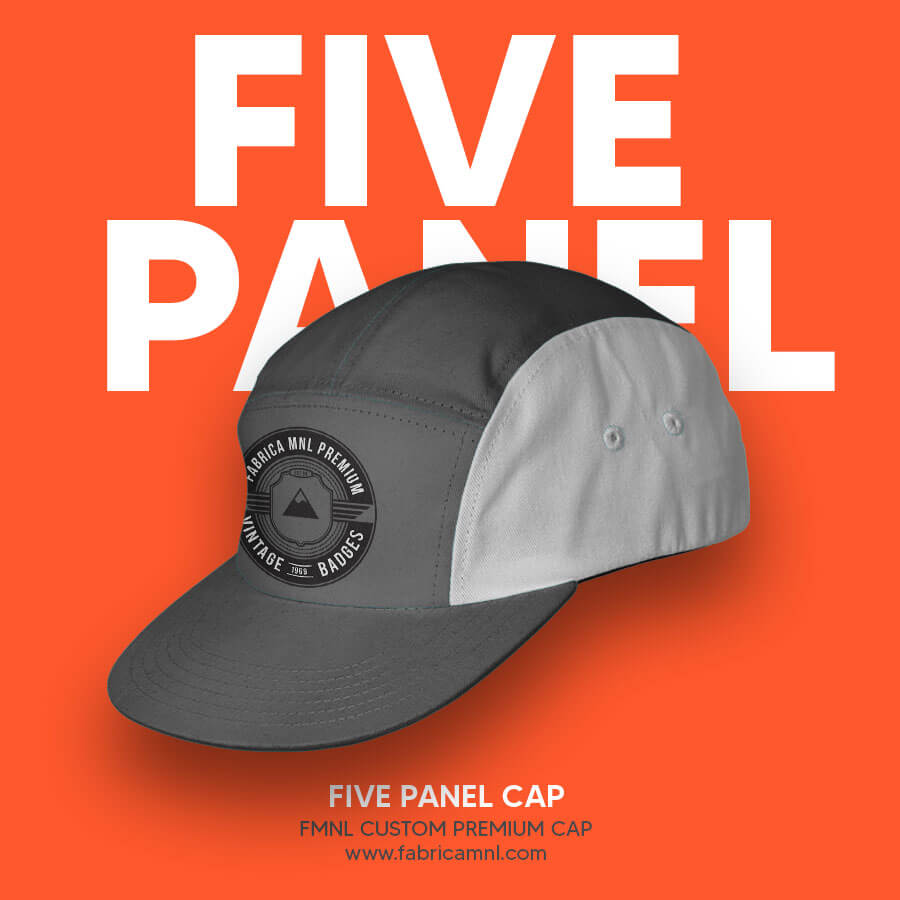 FIVE PANEL CUSTOM CAP