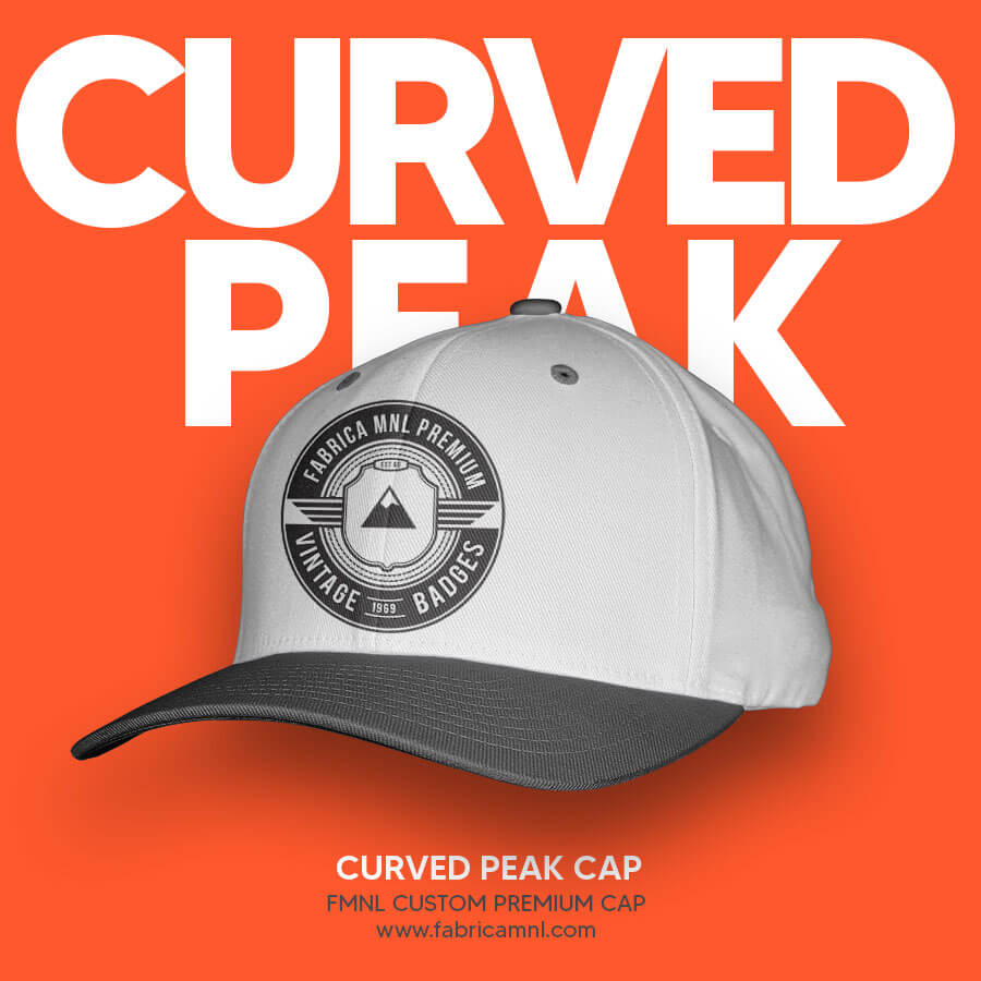 CURVED PEAK CUSTOM CAP