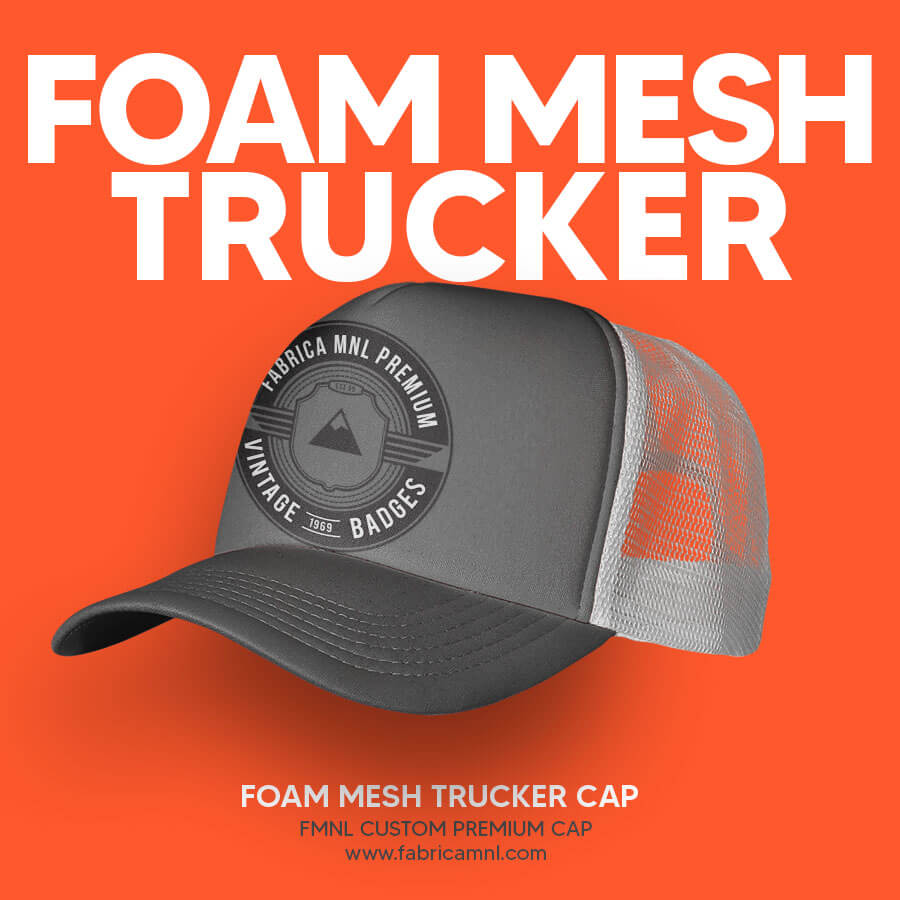 FOAM MESH TRUCKER CUSTOM CAP